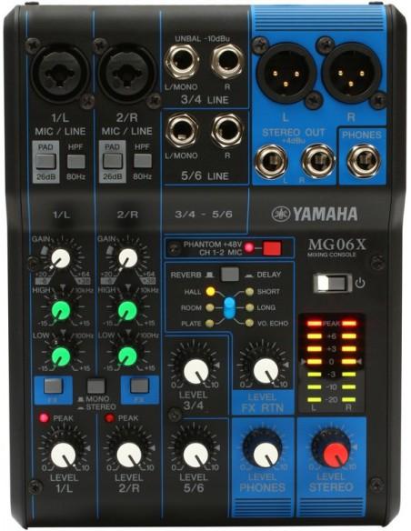 Yamaha MG06X MIXER LIVE