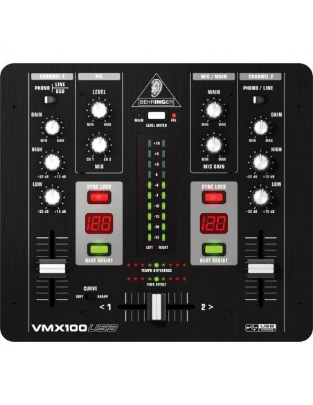VMX100USB BEHRINGER PRO MIXER