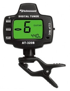 ACCORDATORE AT320B CLIP/MIC TUNER TECHNOSOUND