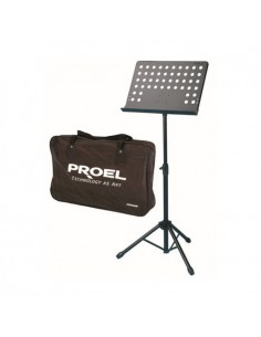 PROEL RSM360M Leggio da orchestra in metallo con borsa