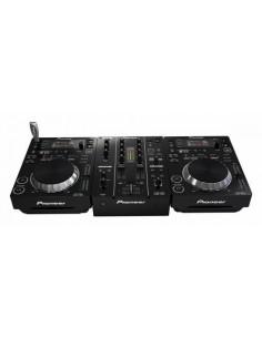 PIONEER DJ 2 LETTORI CDJ 350 + MIXER DJM 350 + FLIGHT CASE