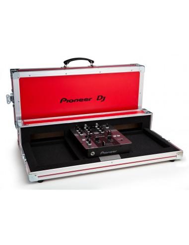 PIONEER flight case per CDJ350 e DJM250 rosso