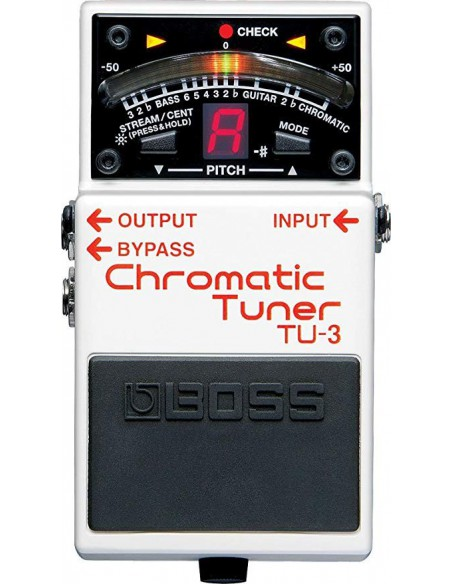 BOSS TU-3 CHROMATIC TUNER Accordatore cromatico