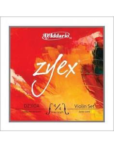 DADDARIO DZ310A-4/4L Zyex Muta corde per violino 4/4