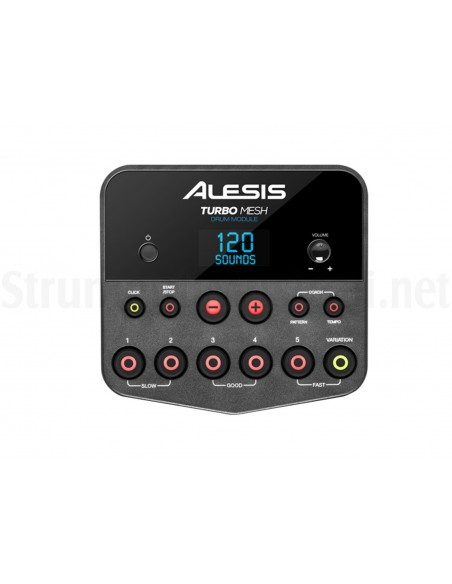 ALESIS TURBO MESH KIT Batteria elettronica con  mesh head drum technology