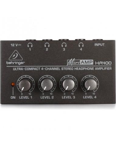BEHRINGHER MICROAMP HA400 Monitor cuffie