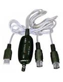 BESPECO BMUSB100 Cavo interfaccia MIDI/USB
