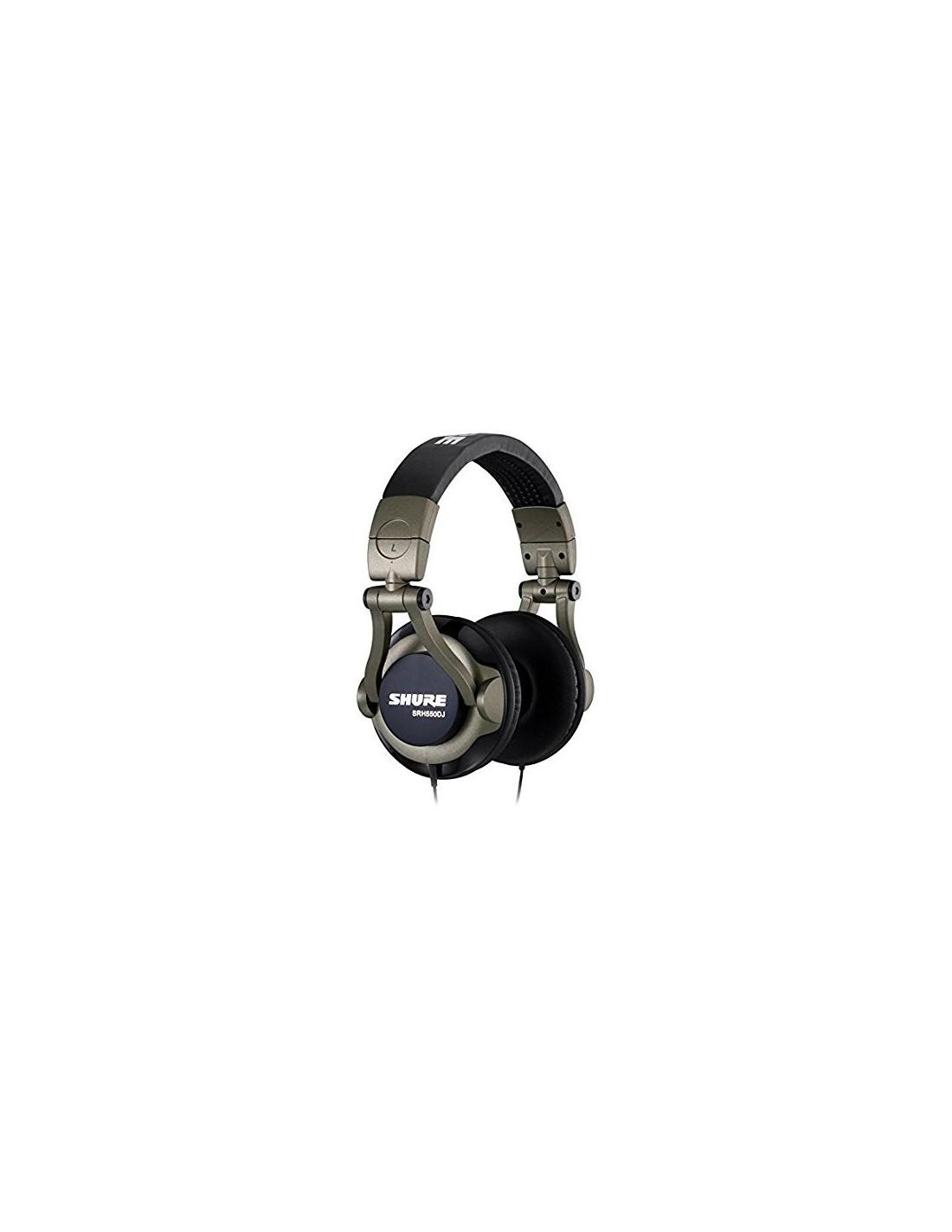 SHURE SRH550DJ - Cuffie per dj - MusicBeat b748a305a078