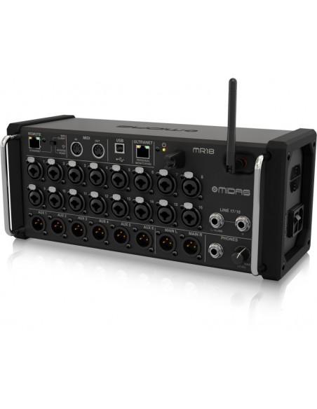 Midas MR18 mixer wifi